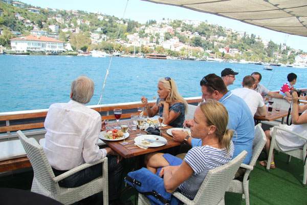 Istanbul City Tour with Bosphorus to Black Sea Cruise