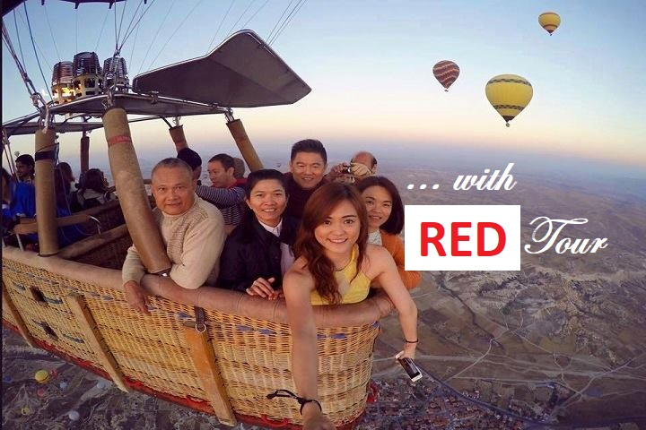 RED _ Cappadocia Balloon Flight at Sunrise