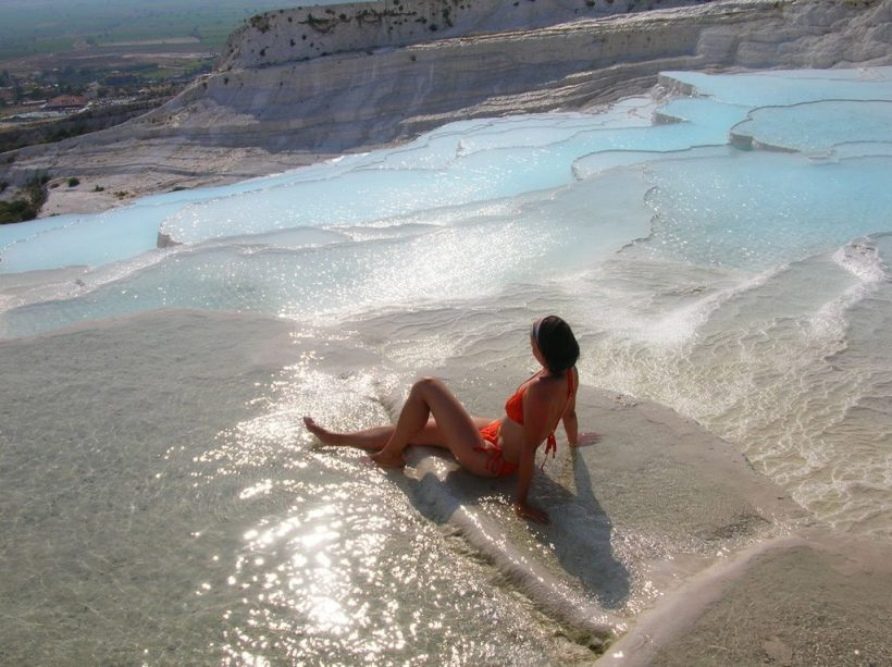 Travertine-Pools