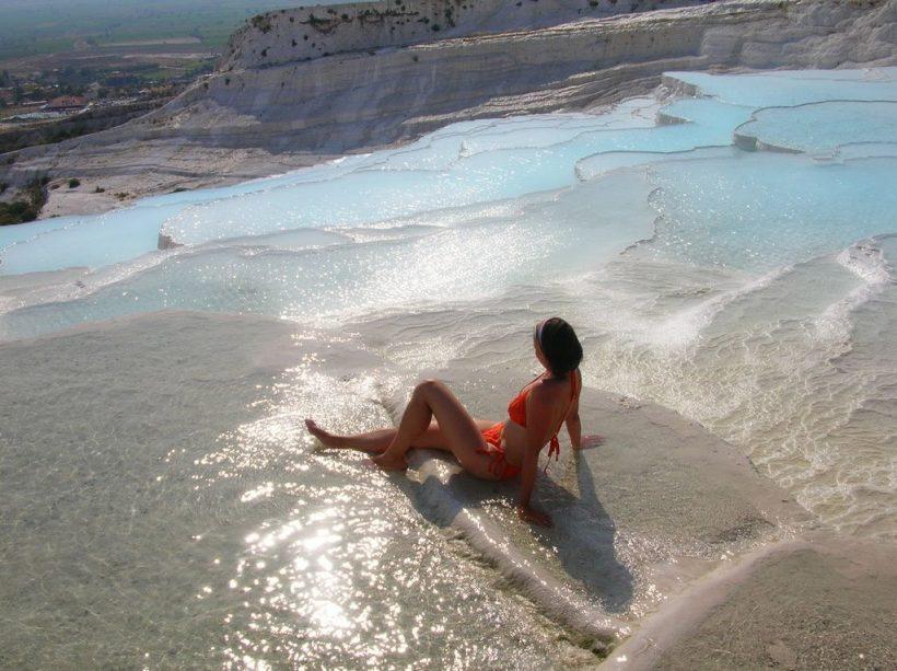 Travertine-Pools