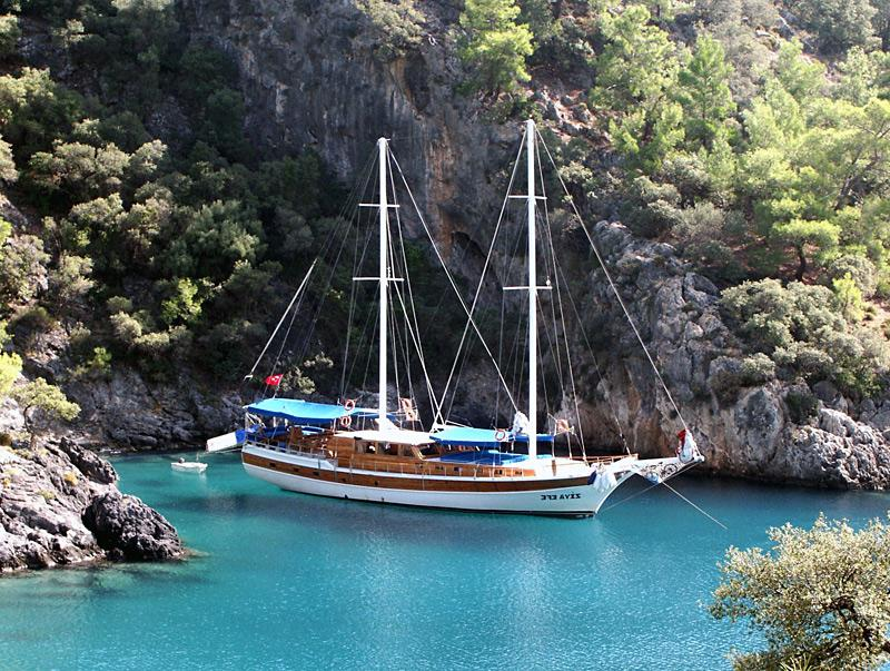 Fethiye to Olympos Cabin Charter