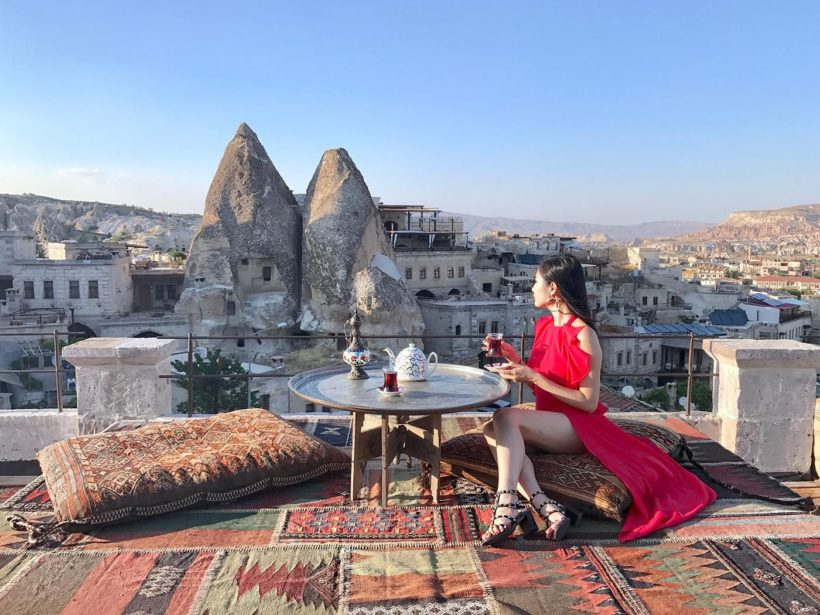 3 Days Cappadocia Trip from Kayseri Airport with hot air balloon