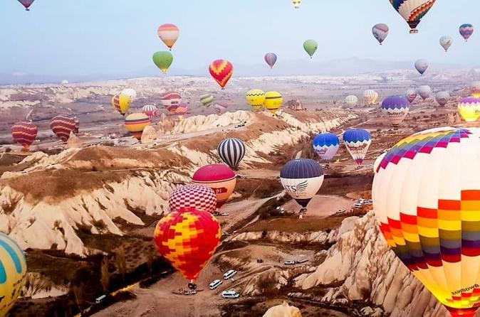 Cappadocia Hot-Air Balloon Flight and Full-Day Tour from Istanbul