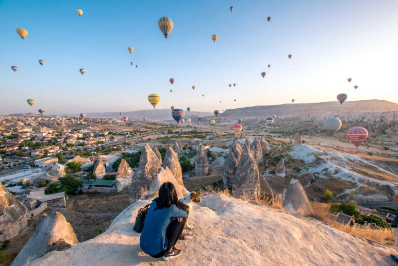 cappadocia-hot-air-balloon-watching