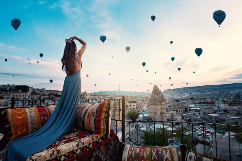 Cappadocia Balloon Flight View with Breakfast