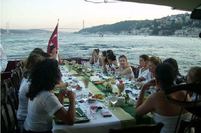 Istanbul – Half Day Bosphorus Cruise with Lunch